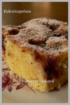 Kukoricaprósza Vegetarian Recipes, Healthy Recipes, Pie Dessert, Sweet Cakes, Polenta, Banana Bread, French Toast, Paleo, Food And Drink