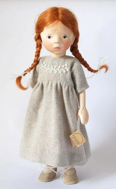 Girl In Wool Dress 2011 H310 By Elisabeth Pongratz At The Toy Shoppe