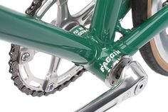 Can you tell I like that green Faggin Paseggiata?  This is from their web site. A great photograph of a great bike, even if it is just a picture of the nether bits of a pedal bike!