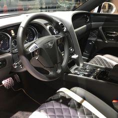 Bentley Flying Spur S / Salon de l'auto a Geneve 2017