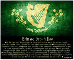 Erin go Bragh flag.
