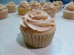 Hard Apple Cider Cupcakes