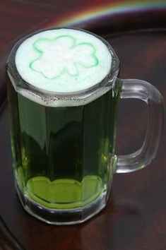 Green Drink Recipes for St. Patrick's Day!