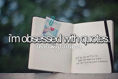 I'm obsessed with quotes!  Follow t h a t s m y l i t t l e f a c t ♥ for more quotes and fun facts! Check out our Facebook page h e r e.