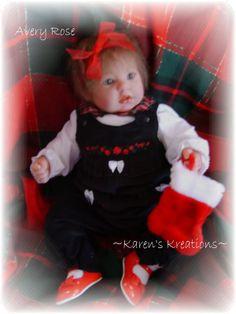Christmas baby ~ Avery Rose