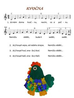 Kvočna Spring Projects, Dinosaur Party, Kids Songs, Zoo, Notes, Music, Piano, Presents, Sheet Music