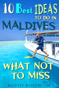 Our 10 Best Things to Do in Maldives take you straight to the 'can't miss' marine treasures and an exciting activities found all around the magical islands of Maldives. Maldives Vacation, Maldives Beach, Maldives Honeymoon, Visit Maldives, Maldives Resort, Maldives Islands, Maldives Hotels, Italy Vacation, Vacation Trips