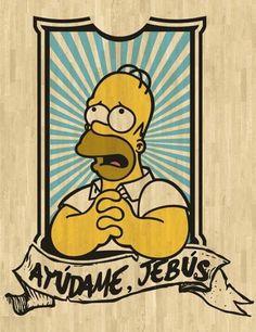 Ayuda Simpsons Art, Simpsons Quotes, Futurama, Cultura Pop, Bart Simpson, Jean Paul Gaultier, Pop Art, Graffiti, Street Art
