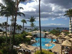 All ocean front suites at The Fairmont Kea Lani.