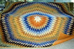Big Bang  Queen Sized Quilt by HandcraftedforKids on Etsy, $1500.00
