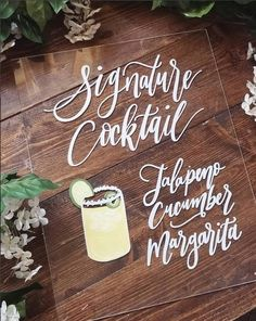 Wedding Food Menu, Wedding Catering, Wedding Signage, Wedding Reception, Drink Signs, Bar Signs, Vintage Wedding Signs, Vintage Signs, Calligraphy Signs