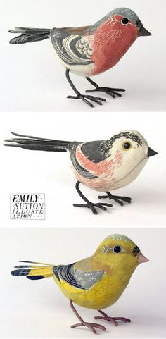 little birds by artist emily sutton