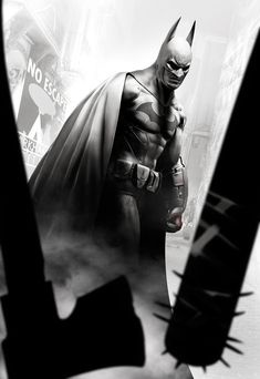 Arkham City art /// Batman