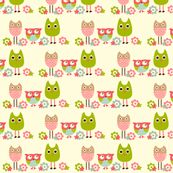 owls on fabric.....can't decide if i should put this here or under quilts. so cute that i can't even think.