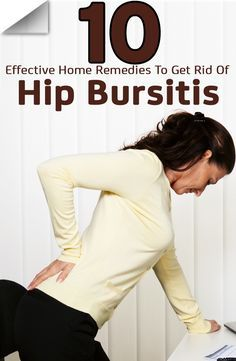 Natural Remedies 10 Effective Home Remedies To Get Rid Of Hip Bursitis - Wondering what could be the cause of your lower back and hip pain? It could be hip bursitis. Here are some home remedies for relief. Keep reading to know more about them! Fitness Workouts, Hip Workout, Desk Workout, Workout Routines, Natural Home Remedies, Natural Healing, Holistic Healing, Bursitis Hip, Hip Bursitis Exercises