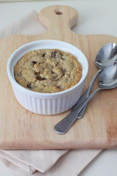 Grain-Free Chocolate Chip Cookie Cake for Two