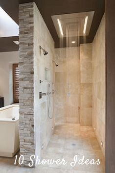 Country bathroom shower ideas double shower tile ideas country bathroom shower ideas bathroom contemporary with double . Bathroom Interior, Modern Bathroom, Bathroom Ideas, Bathroom Small, Rustic Bathrooms, Stone Bathroom, Design Bathroom, Bathroom Showers, Bathroom Layout