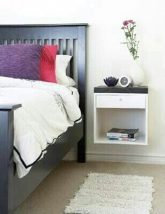 Floating Nightstand This Diy Shows You How To Build Yourself A Wall Mounted For Your Small Bedroom