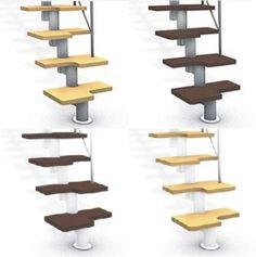 Escaleras espacios reducido pasos alternados curvo venta - Escaleras para espacios reducidos ...