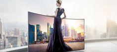 Samsung apresentou o primeiro televisor Curved UHD na Moda Lisboa