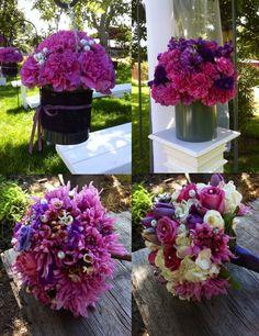 Purple and lavender wedding