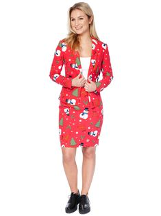 bc2113ab318 Costume Mrs. Snowmiss femme Opposuits™ Noël   Ce déguisement Opposuits™  Mrs. Snowmiss