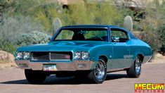 1970 Buick Gs Stage 1 - Status: Highest Bid ($74,000) at Kissimmee 2020 (Mecum) - Throddal Buick Gsx, Buick Cars, Buick Skylark, Black Bucket, Chrome Wheels, Chevy Trucks, Muscle Cars, Classic Cars, Stage