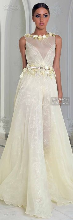 Abed Mahfouz Fall Couture october wedding colors schemes / fall wedding ideas colors october / fall wedding ideas november / fall winter wedding / fall colors for wedding Colored Wedding Dresses, Dream Wedding Dresses, Wedding Gowns, Wedding Colors, Beautiful Gowns, Beautiful Outfits, Gowns Of Elegance, Abed Mahfouz, Dream Dress