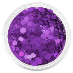 Purple Plum Hexagon Glitter – Solvent Resistant Glitter from Glitties Nail Art Online Store Bulk Glitter, Cosmetic Grade Glitter, Orange Glitter, Purple Jewelry, Plum Purple, Pink, Glitter Nail Art, Arts And Crafts Projects, Modern Retro