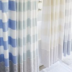 Turkish Towel Shower Curtain