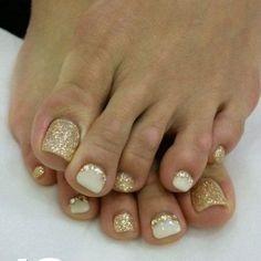 31 ideas para decorar las uñas de tus pies este verano - Curso de Organizacion del hogar y Decoracion de Interiores