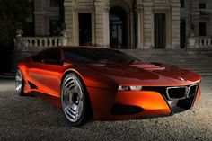 BMW M1 Hommage slinky retro red