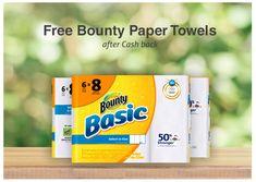 Free Bounty paper towels!