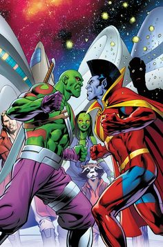 GUARDIANS OF THE GALAXY by Alan Davis