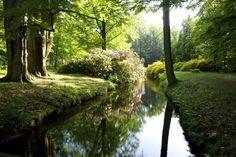Schlosspark Gaußig in Sachsen (Reichsgrafen Schall-Riaucour)