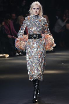 Saint Laurent Fall 2016 The abundance of fringe on the cuffs reminds me of this idea I had of modifying a plain crisp button up.  I may have to do this now.