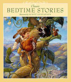 CLASSIC BEDTIME STORIES BOOK — The Art of Scott Gustafson