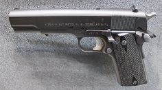 Norwegian 1911-style 1914 pistol - licensed by Colt during the 1940s