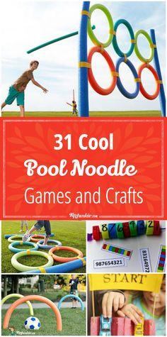 New outdoor team games for kids pool noodles Ideas Noodles Games, Pool Noodle Games, Pool Noodle Crafts, Pool Party Games, Outdoor Party Games, Backyard Games, Crafts With Pool Noodles, Foam Noodles, Indoor Games