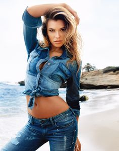 #GUESS denim on denim.