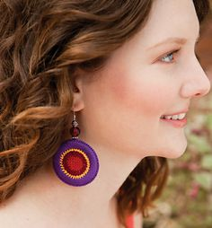 Ravelry: Fiesta Earrings pattern by Brenda K. B. Anderson