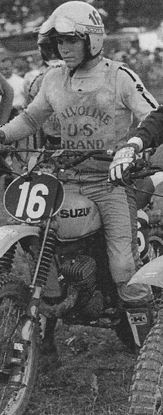 Danny Laporte Off Road Bikes, Dirt Bikes, 2 Stroke Dirt Bike, Old Scool, Motocross Riders, Off Road Racing, Vintage Motocross, Cars And Motorcycles, Ali