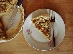 Pumpkin Pie mit Walnuss-Streuseln // Pumpkin Pie with Walnut-Crumple