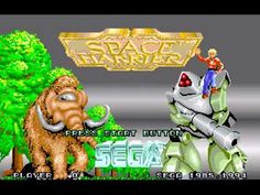 TOP 14 MD 32X | SPACE HARRIER (SEGA, 1994) - SPACE HARRIER EN 32-BITS