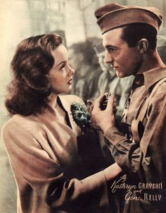 Kathryn Grayson & Gene Kelly