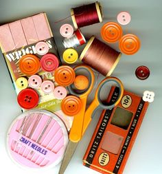vintage sewing notions  #sewing  #crafts