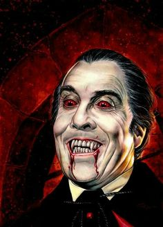 Dracula - RIP Sir Christopher Lee - you legend!                                                                                                                                                      More