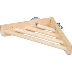 Prevue Pet Products BPV3300 Wood Corner Shelf Laddered Platform for Bird Cages, 7 by 7-Inch Prevue http://www.amazon.com/dp/B004130RSM/ref=cm_sw_r_pi_dp_1JCMtb0E93SHN7WC