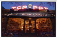 Top Pot Doughnuts (www.toppotdoughnu...), Capitol Hill, Seattle Washington - great coffee too
