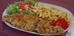 CACHOPO DE TERNERA. Os acercamos al Principado de Asturias para presentaros un plato característico de nuestra tierra; el cachopo de ternera.  El cachopo son dos filetes de ternera grandes entre los que se coloca jamón y queso.